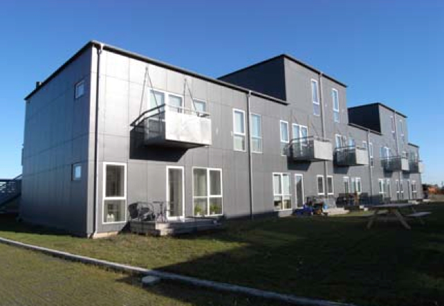 Picture 6 - Outside view of  the housing project