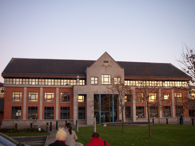 Country hall in Dundalk, Ireland, part of the CONCERTO project HOLISTIC
