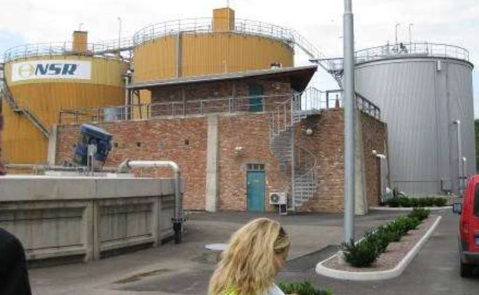 Picture 4 -  Biogas plant at  Helsingborg