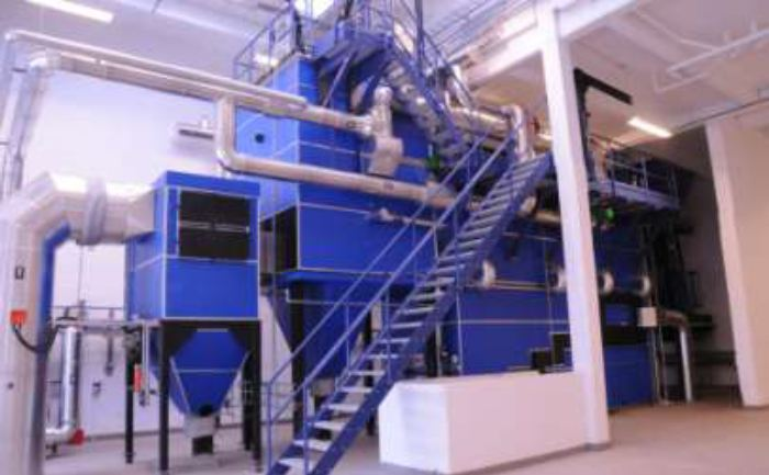 Picture 6 – The biomass  boiler plant