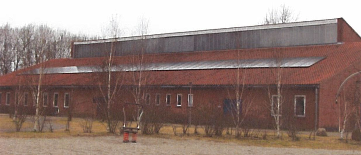 Picture 2 –  PV plant on the roof  of Grydemose Schoo