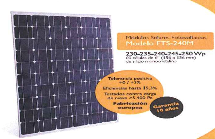"""Picture 9 –  PV Modules used  at """"Lourdes Neighborhood"""""""