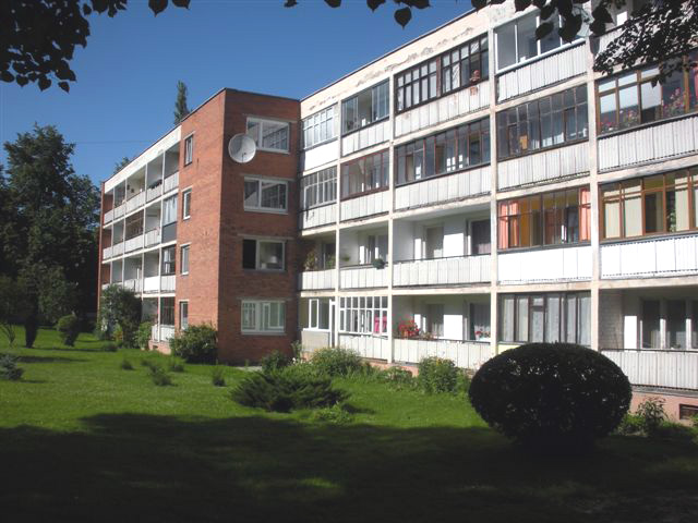 Example of  dwellings to be retrofitted