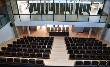 """Picture 4 –  Inside building  """"Manconmunidad residuos  sólidos de la Ribera"""""""
