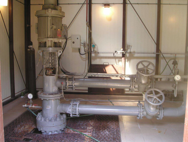 Picture 2 –  Geothermal Station