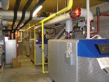Picture 5 - The rebuilt  boiler room