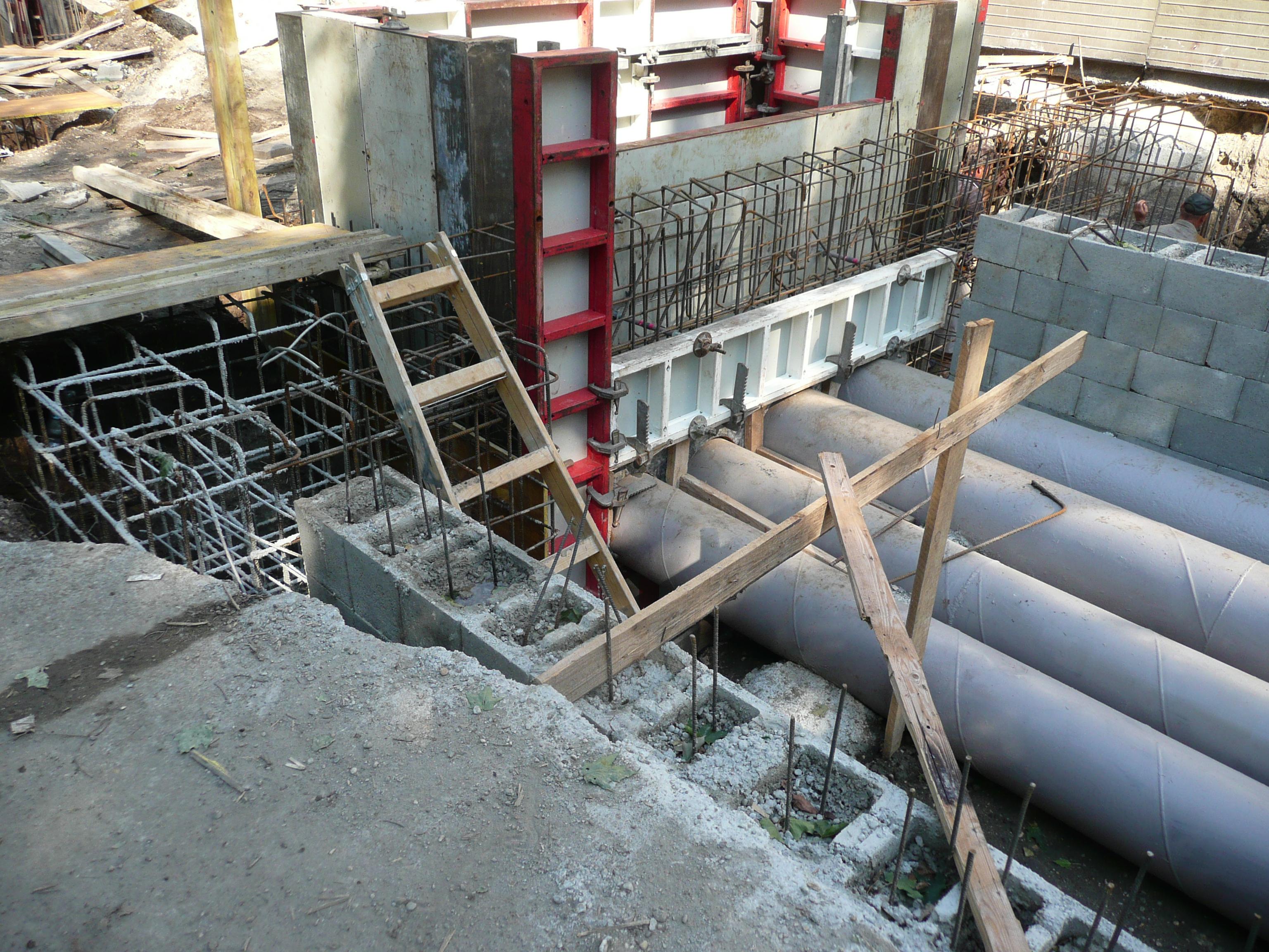 Picture 6 – Heat pump  underground installation