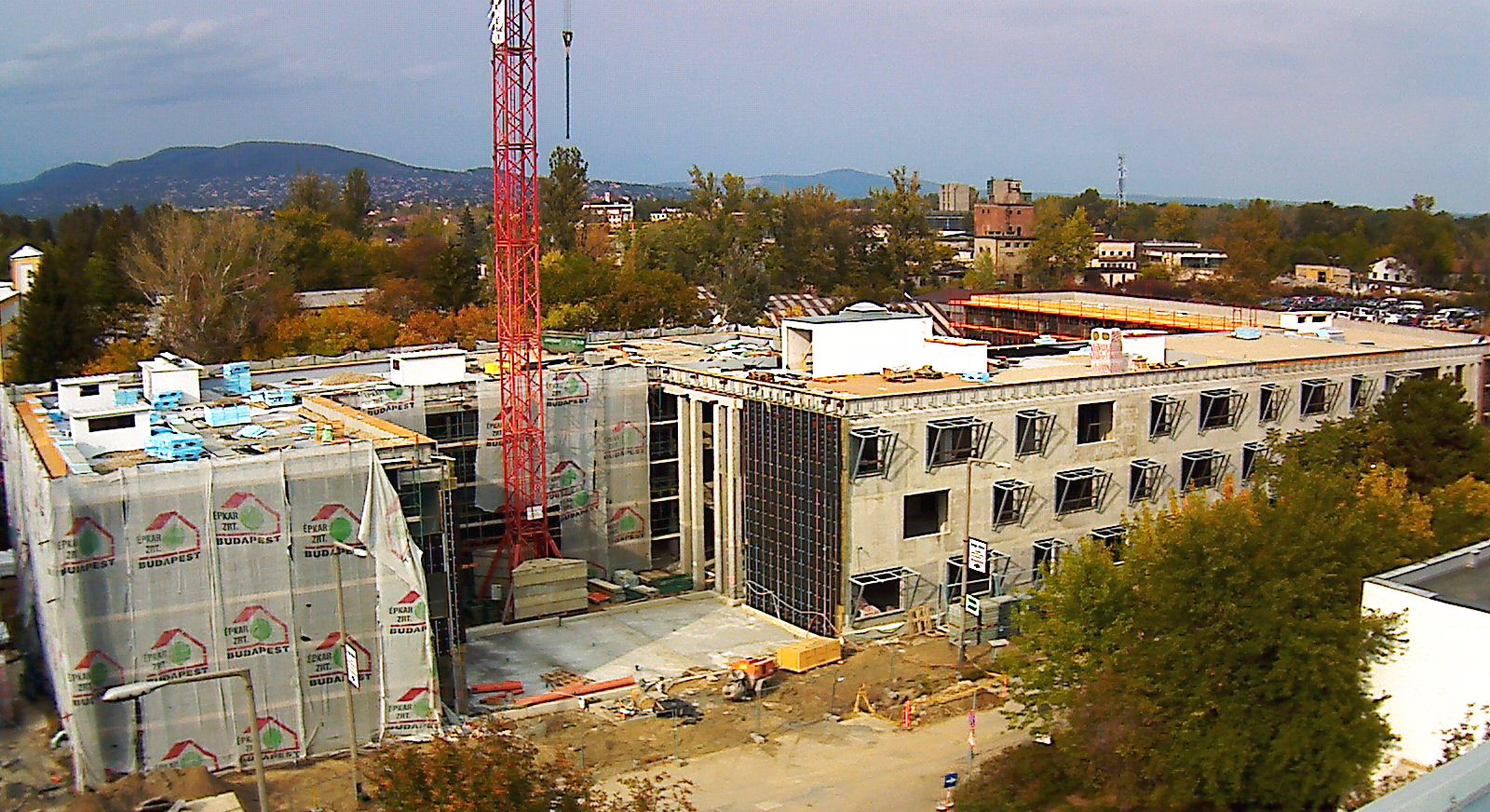 Picture 2 – New   EMI office   building under   construction
