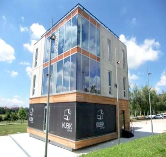 """Picture 4 – Test  building """"KUBIK"""""""