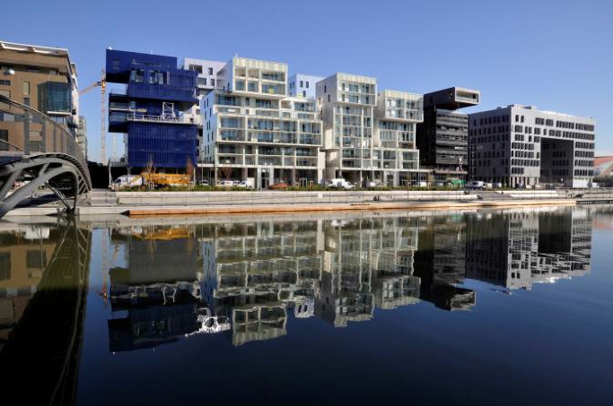 Picture 3 - View of Block B © spla lyon confluence