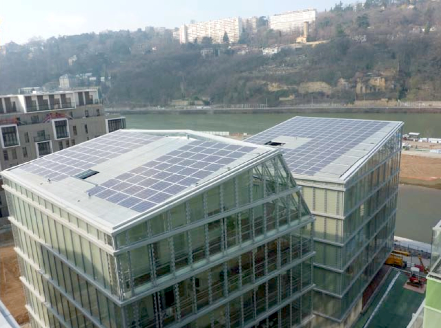 Picture 4 - Photovoltaic installation on Block C