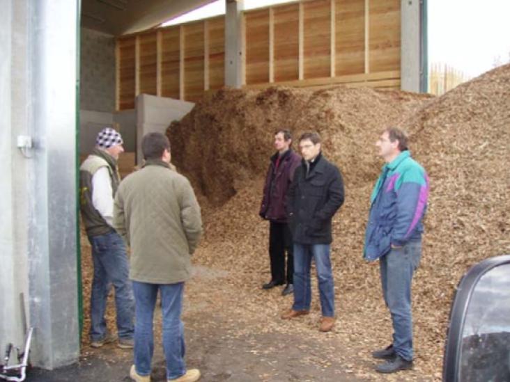Picture 2 – Wood Chip Storage  at Castle Judenau