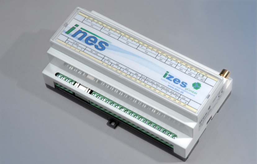 Picture 8 - The INES  (IZES node for external  systems)-box