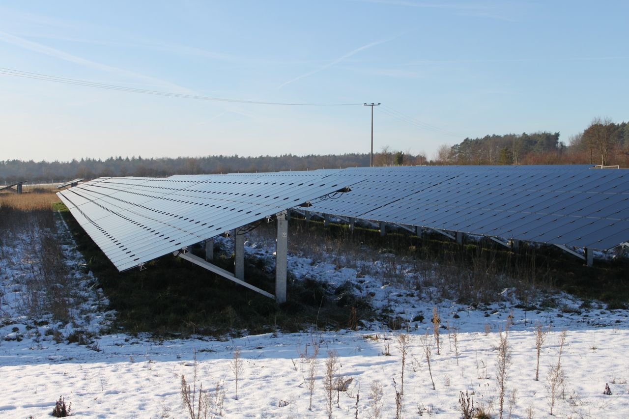 Picture 6 - Ground-based  photovoltaic plant