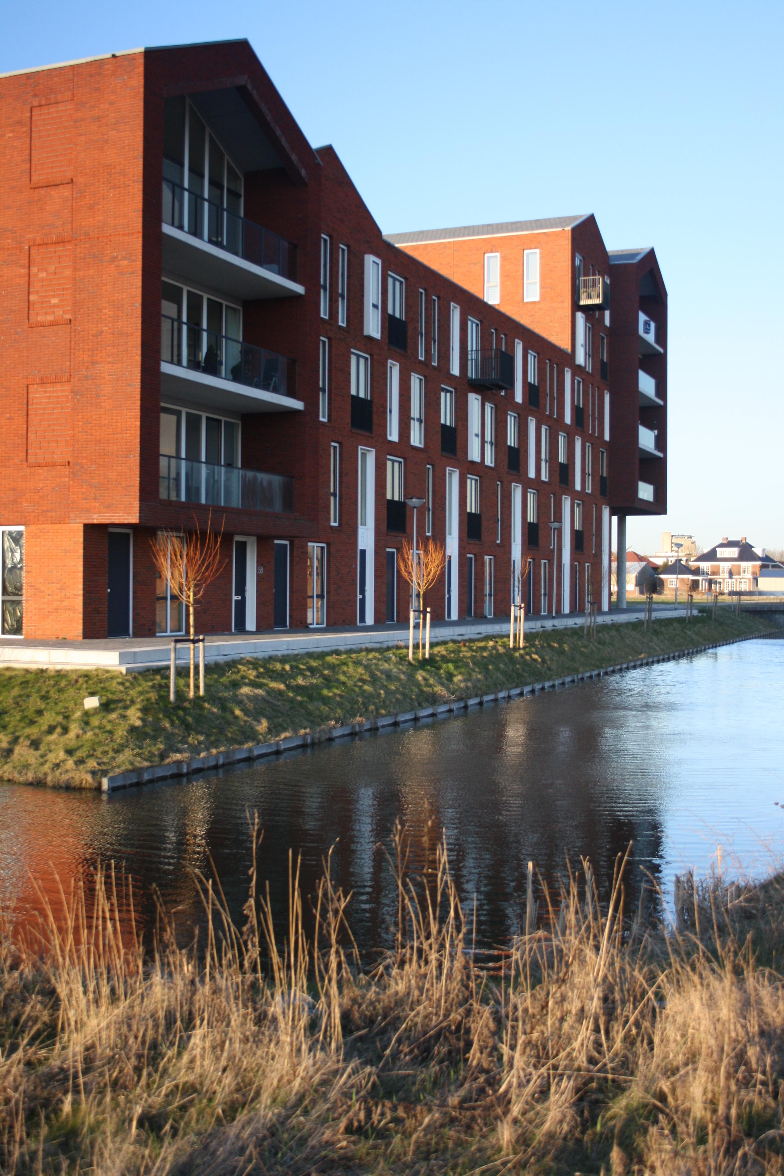 """Pictures 1 b – New building area """"Harnaschpolder"""""""