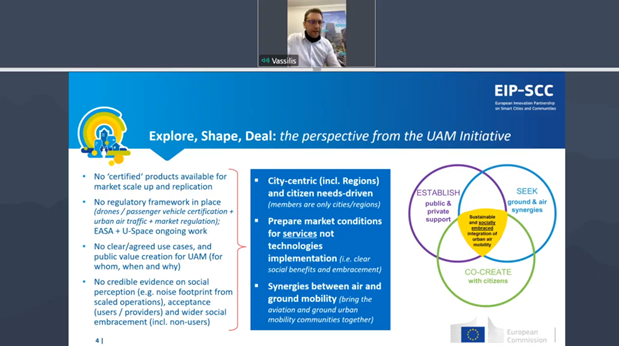 Explore, Shape Deal from the UAM