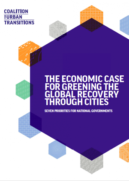 "Coverpage ""The Economic Case for Greening the Global Recovery through Cities"""