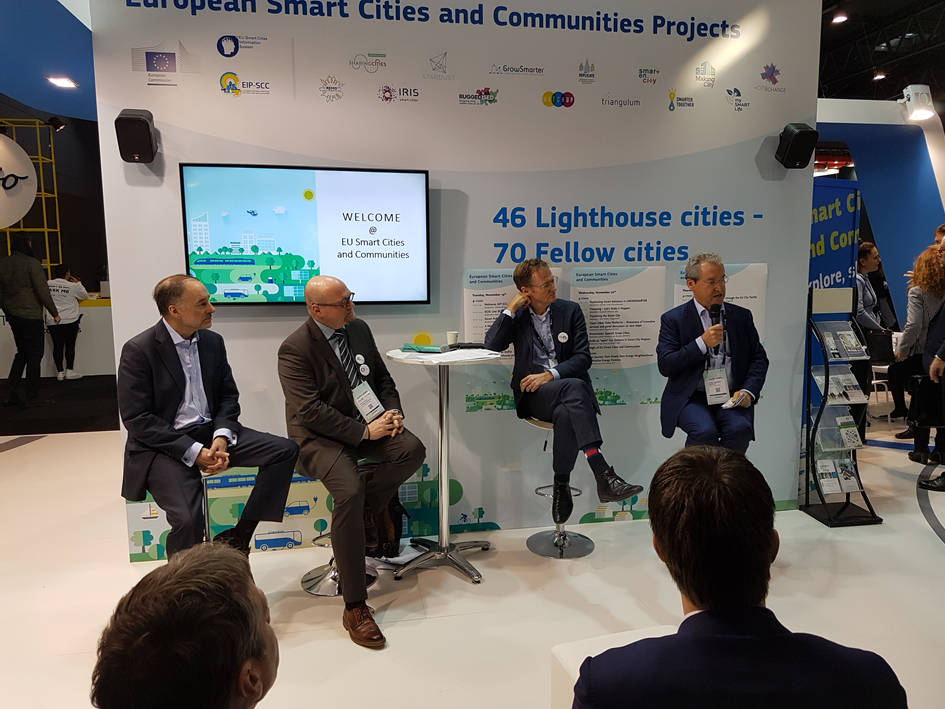 Session: A Mission to Deliver the Cities of the Future (Credits: Steinbeis-Europa-Zentrum)