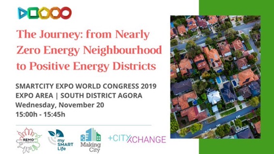 Agora Session 2: The Journey: from Nearly Zero Energy Neighbourhood to Positive Energy Districts (Credits: SCC1 Comms)