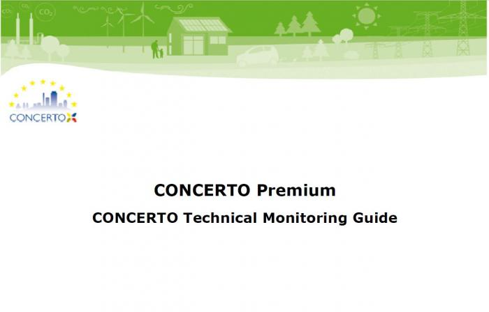 CONCERTO technical monitoring guide