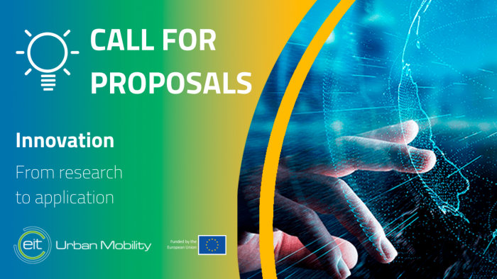Call for Proposals EIT Mobility 2021